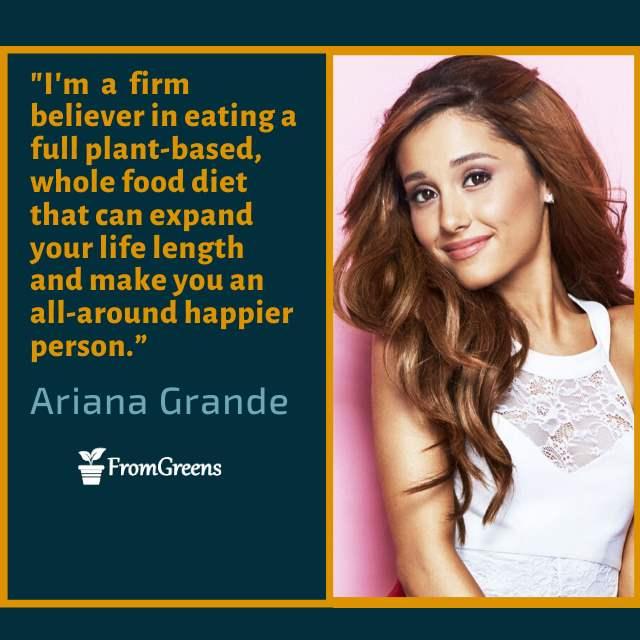 Ariana Grande Celebrity Quotes