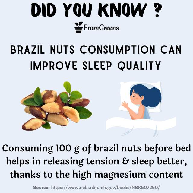 Did you know facts brazil nuts - Evidence based