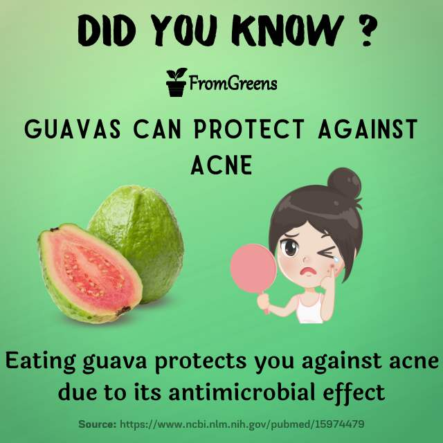 Did you know facts guavas - Evidence based