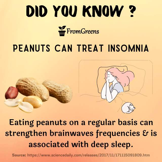 Did you know facts peanuts - Evidence based