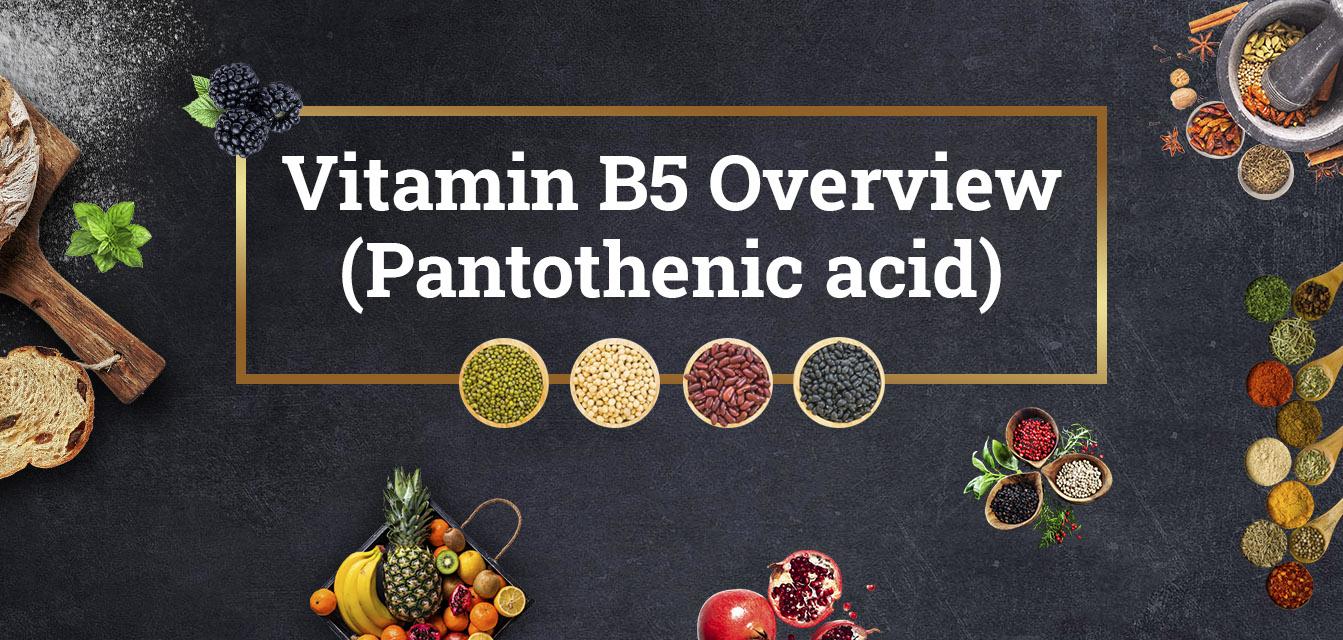 pantothenic acid foods
